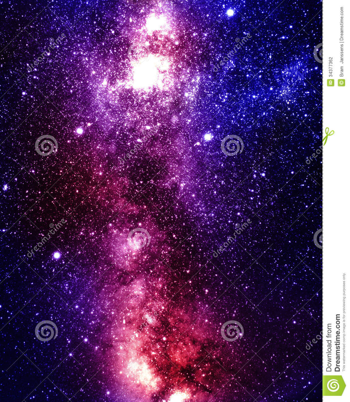 Deep Outer Space Stock Photography - Image: 34377362