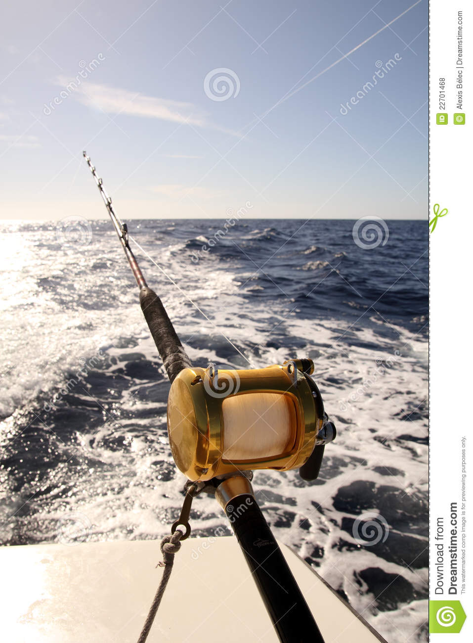 Deep sea fishing stock photo image of marlin ocean for Fishing times free
