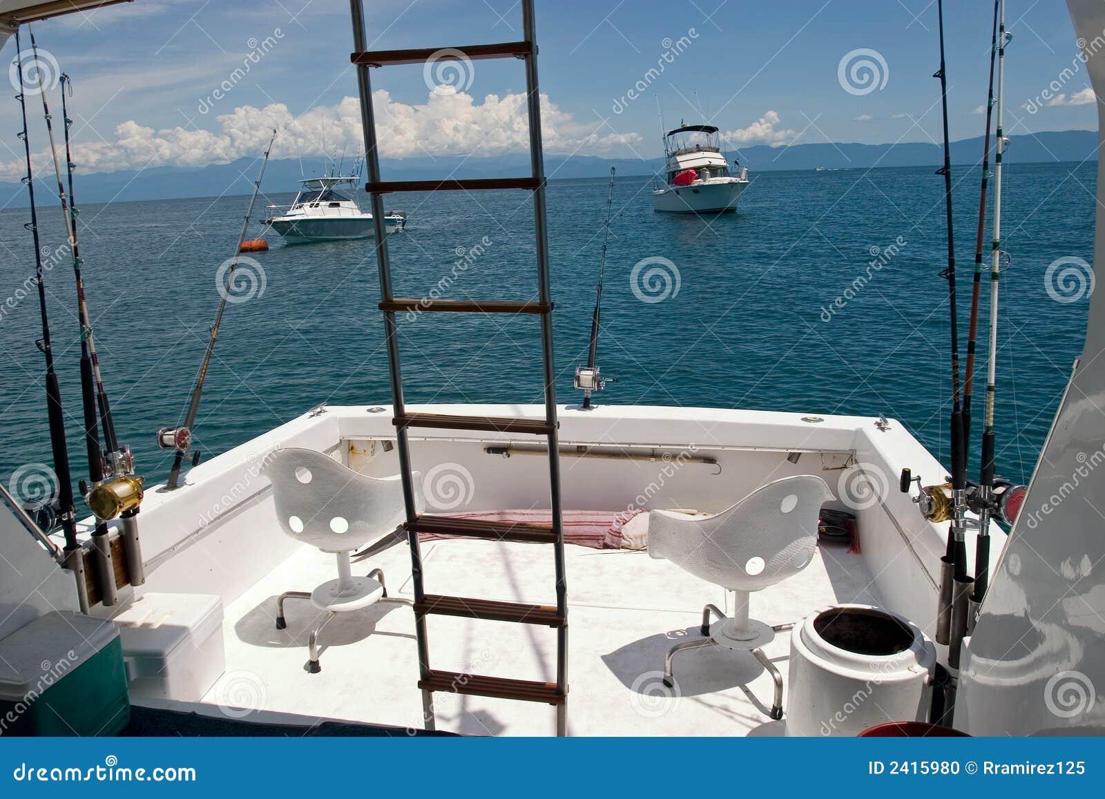 Deep sea fishing boat stock photo image 2415980 for Deep sea fishing puerto vallarta