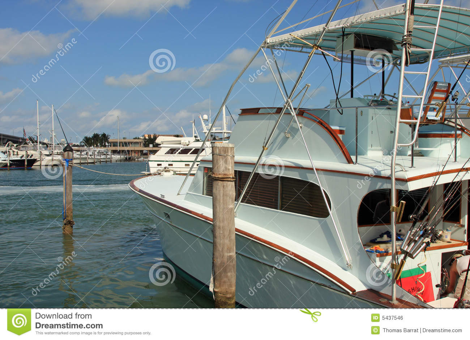 Deep sea fishing boat at the dock royalty free stock image for Deep sea fishing boat