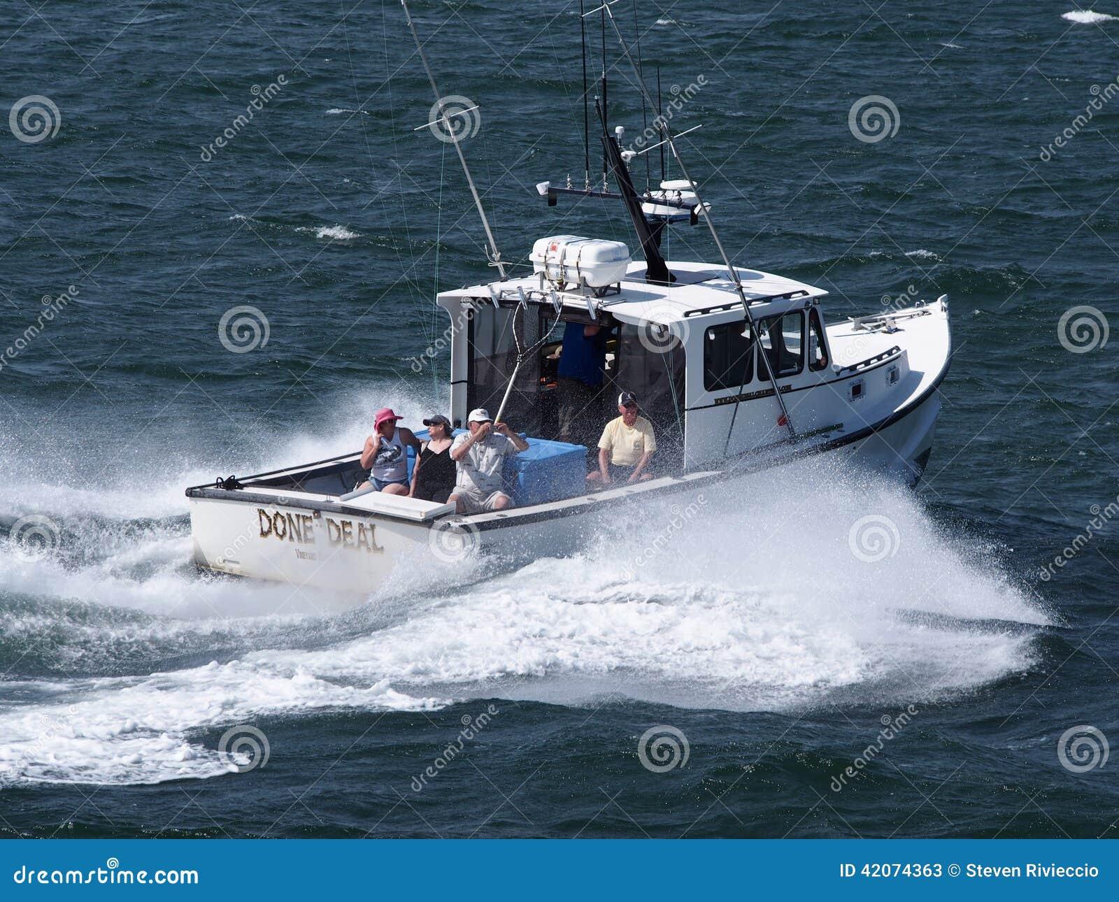 Deep Sea Fishing Charter Editorial Stock Photo Image Of