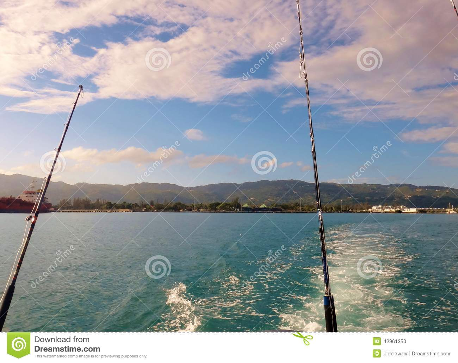 Deep sea fishing stock photo image 42961350 for Deep sea fishing jamaica