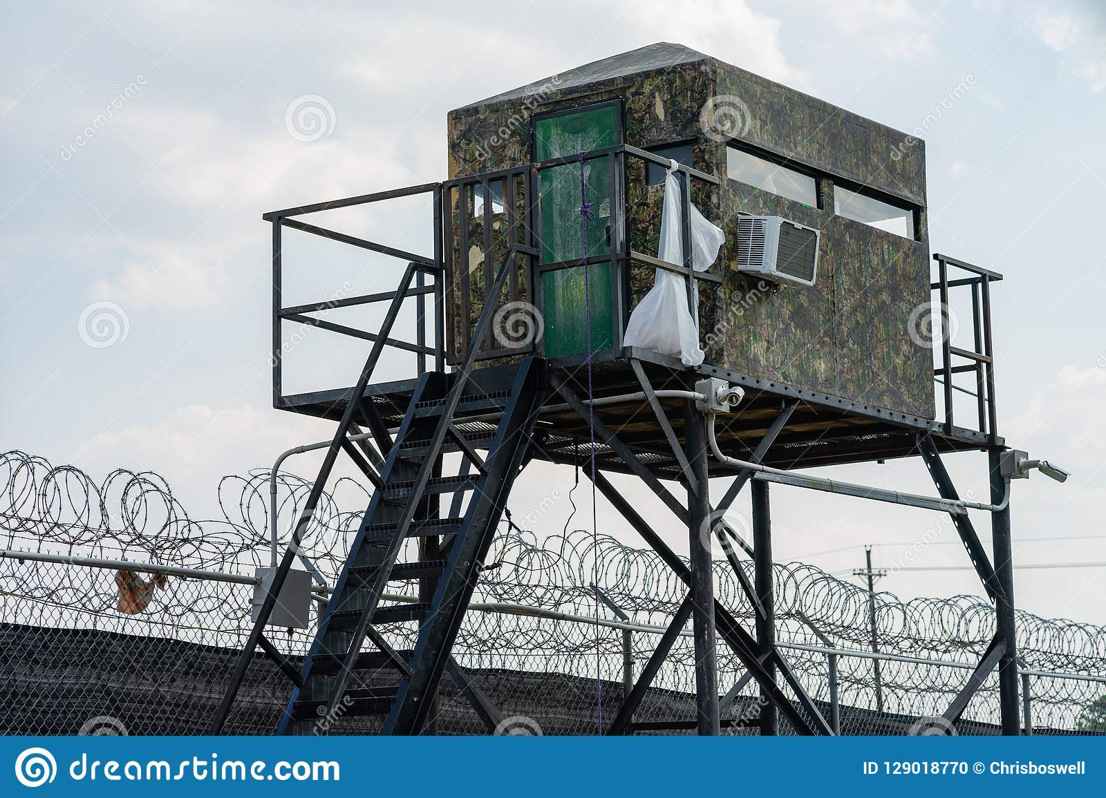 Deep South County Correctional Facility Jail Watchtower