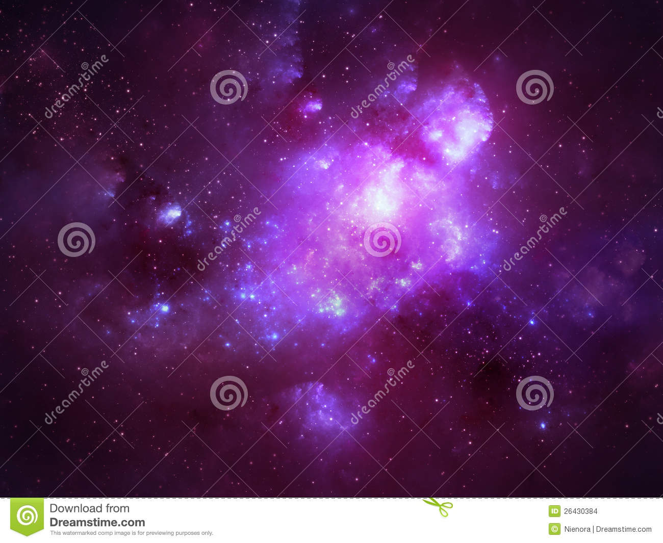 Deep Space Nebula Stock Images - 142.8KB