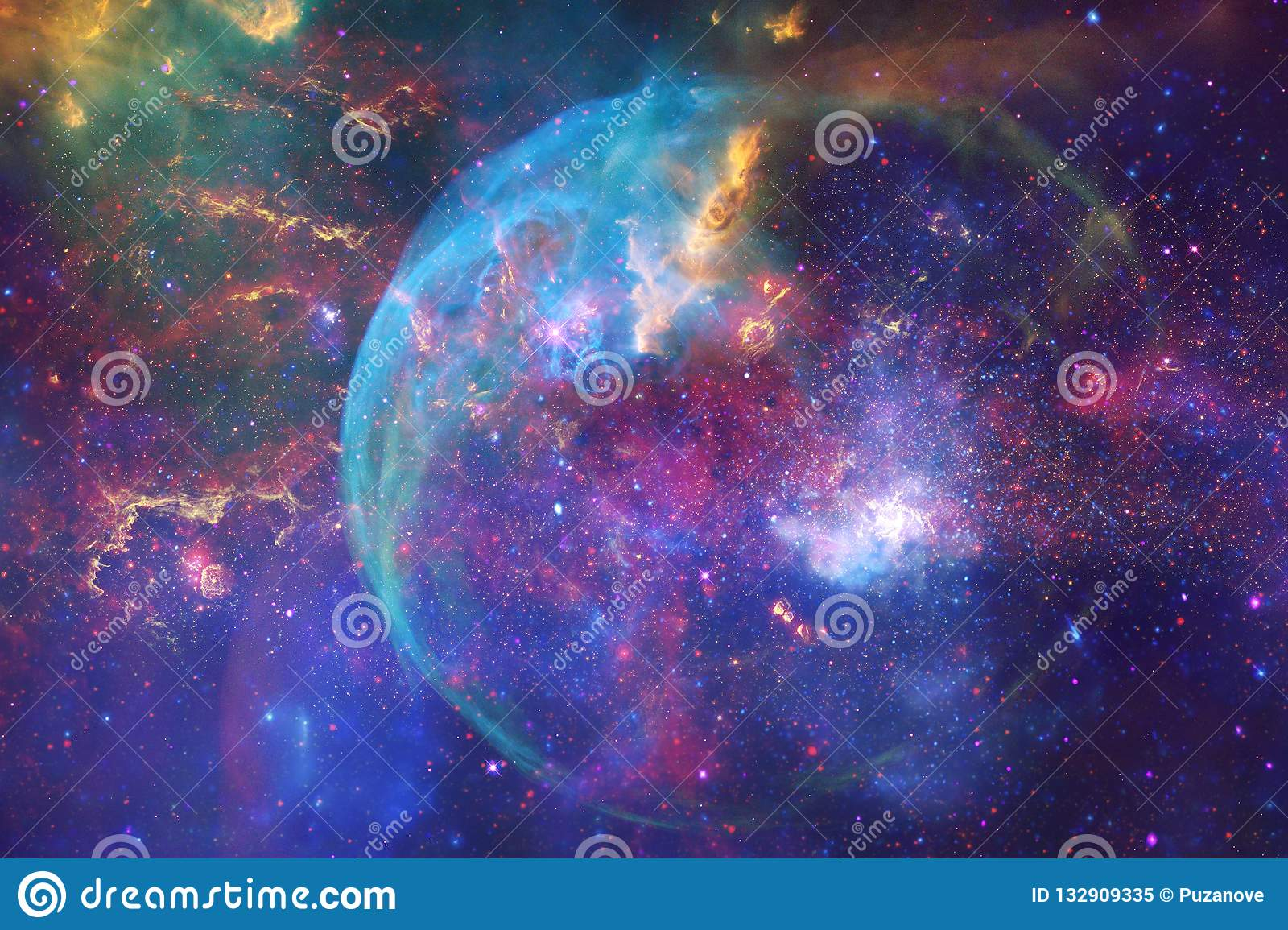 Deep Space Science Fiction Fantasy In High Resolution Ideal