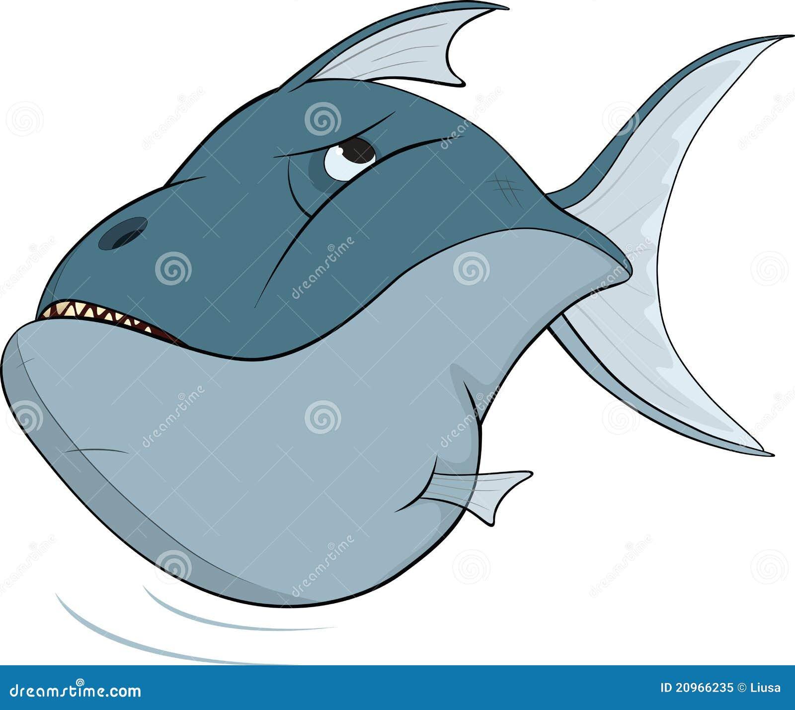 Deep-water fish. Cartoon stock illustration. Illustration ...