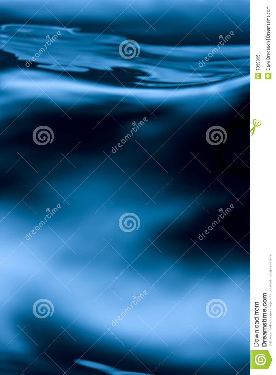 Deep Water Wave Abstract