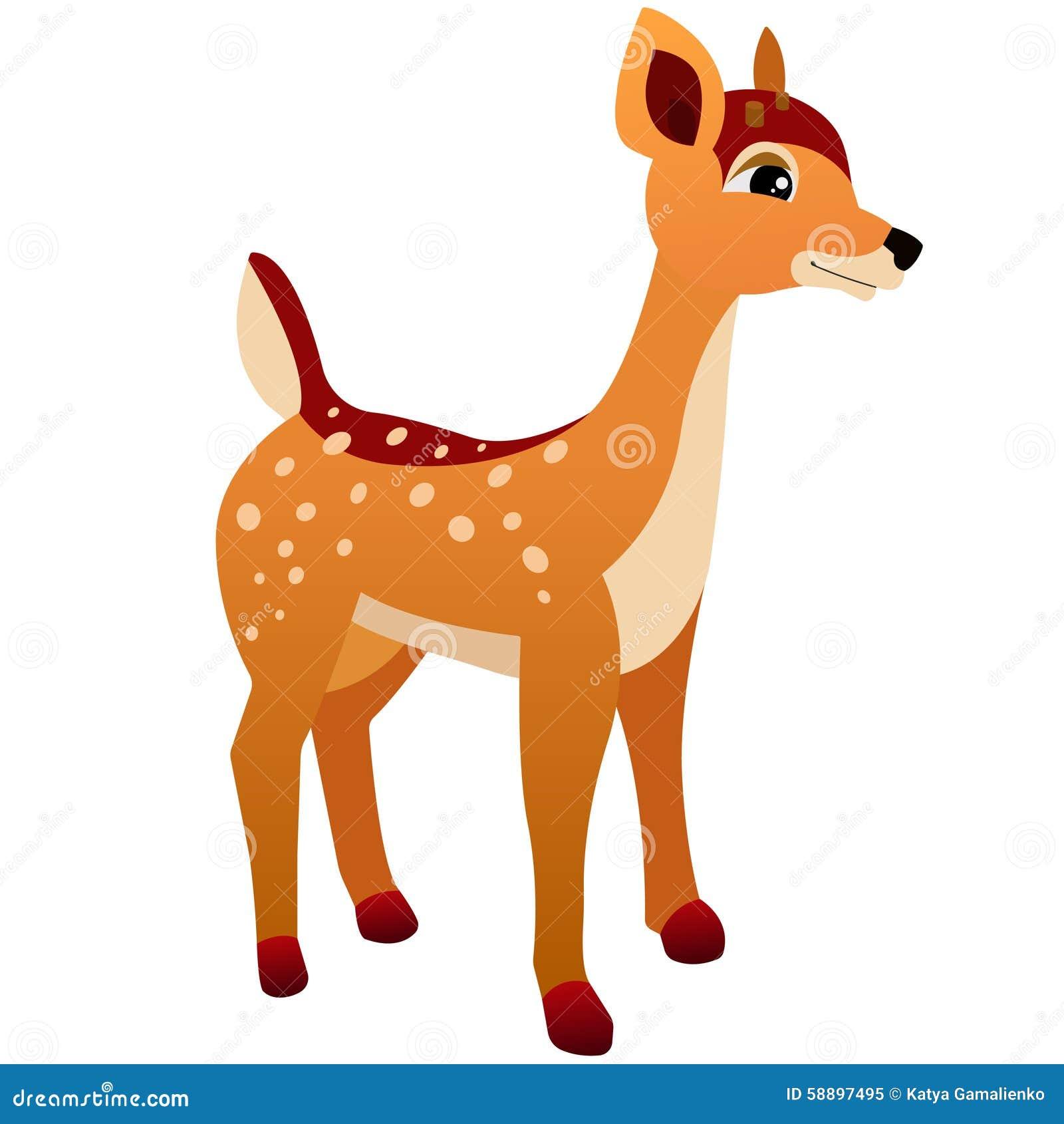 Deer Cartoon Stock Illustration Image 58897495
