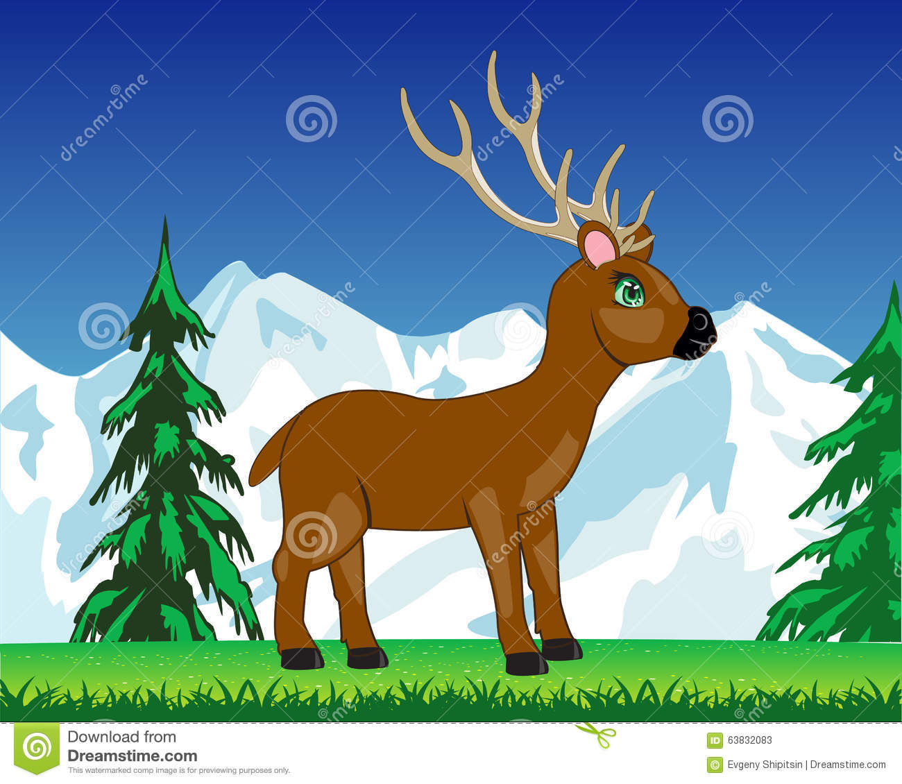 image Mr deer mountain spunk