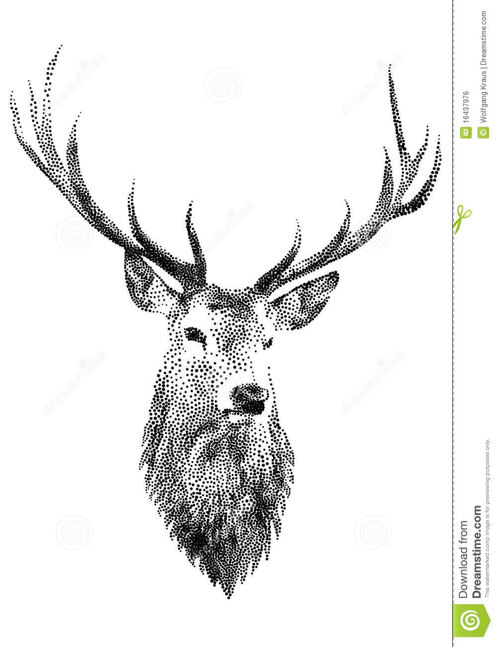 Deer Head, Royalty Free Stock Image - Image: 16437976