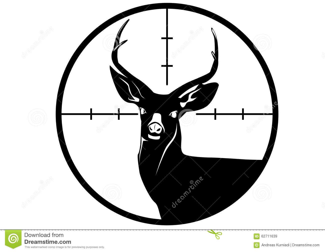 deer hunt hunting logo stock vector image 62711639 Bullseye Free Clip Art Four Rings Bullseye Free Clip Art Four Rings