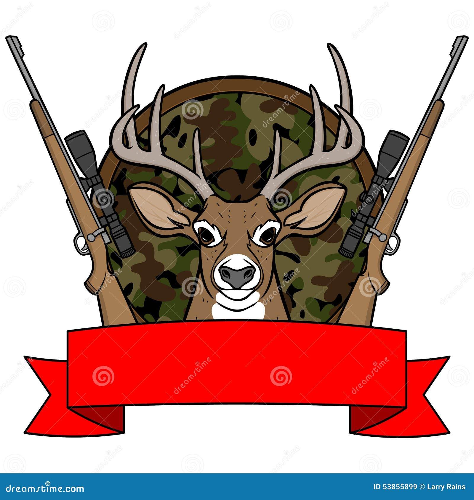 Deer Buck Clipart at GetDrawings   Free download   Deer Hunting Cartoon Clipart