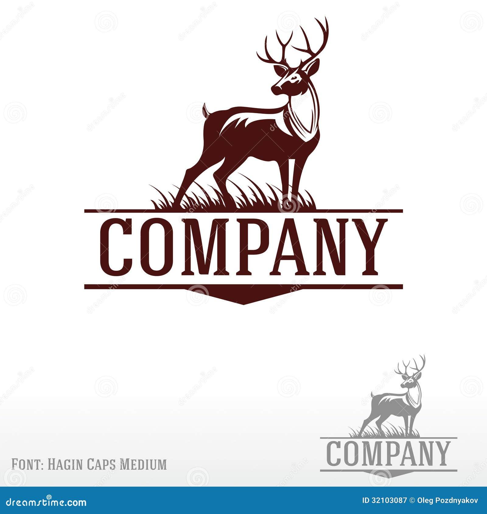 Deer Logo Royalty Free Stock Photography - Image: 32103087