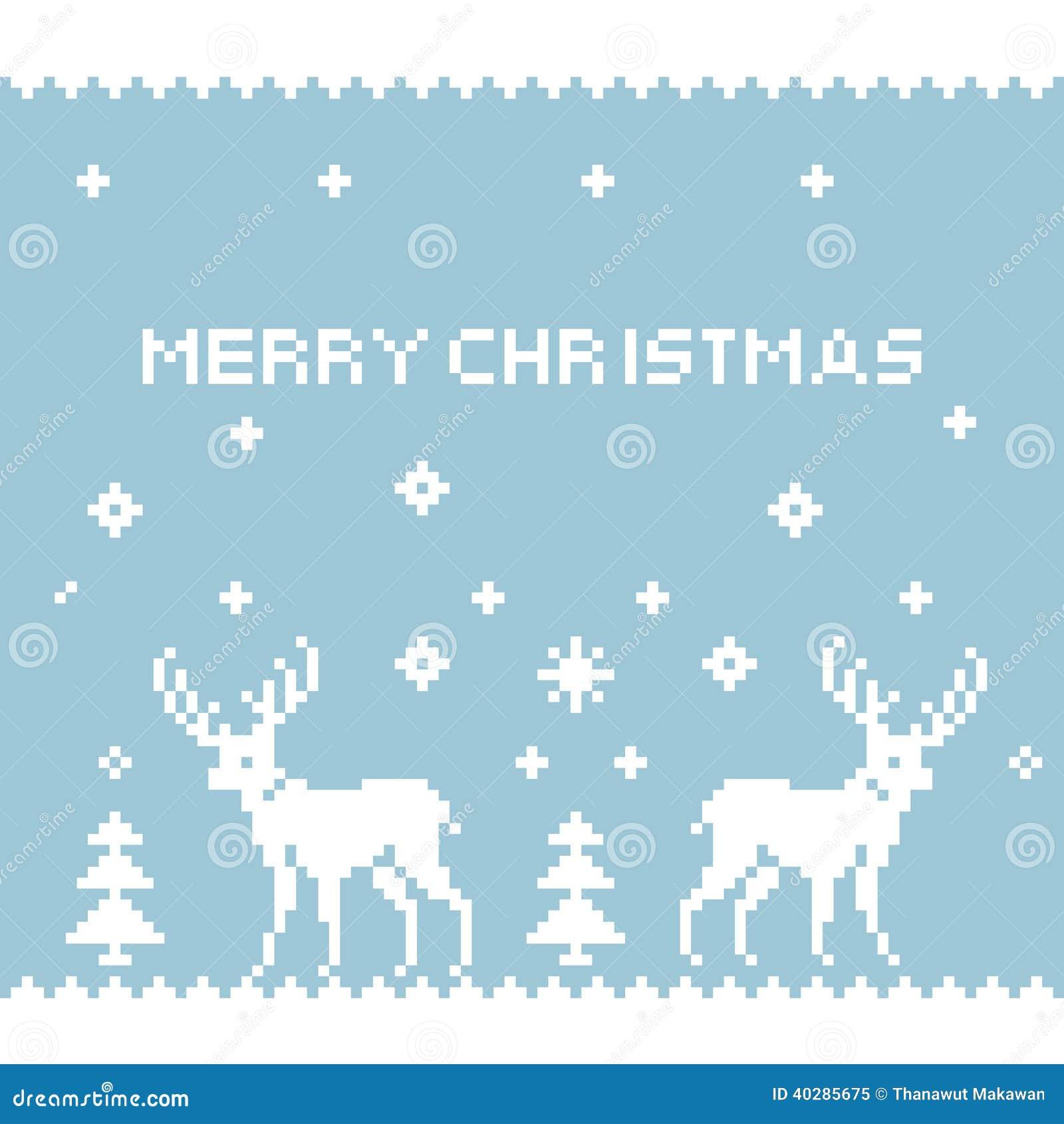 deer pixel art stock vector  image of decoration  pattern