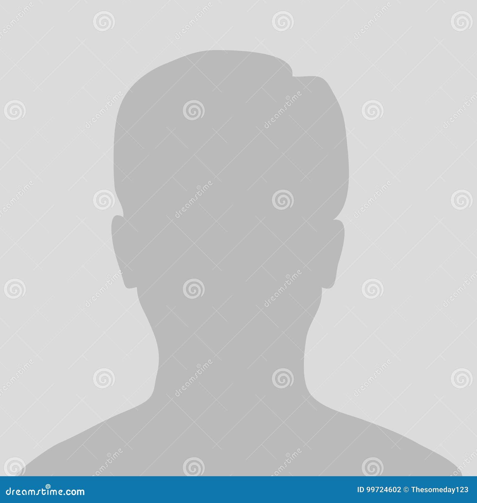 Default Avatar Profile Icon, Grey Photo Placeholder Stock