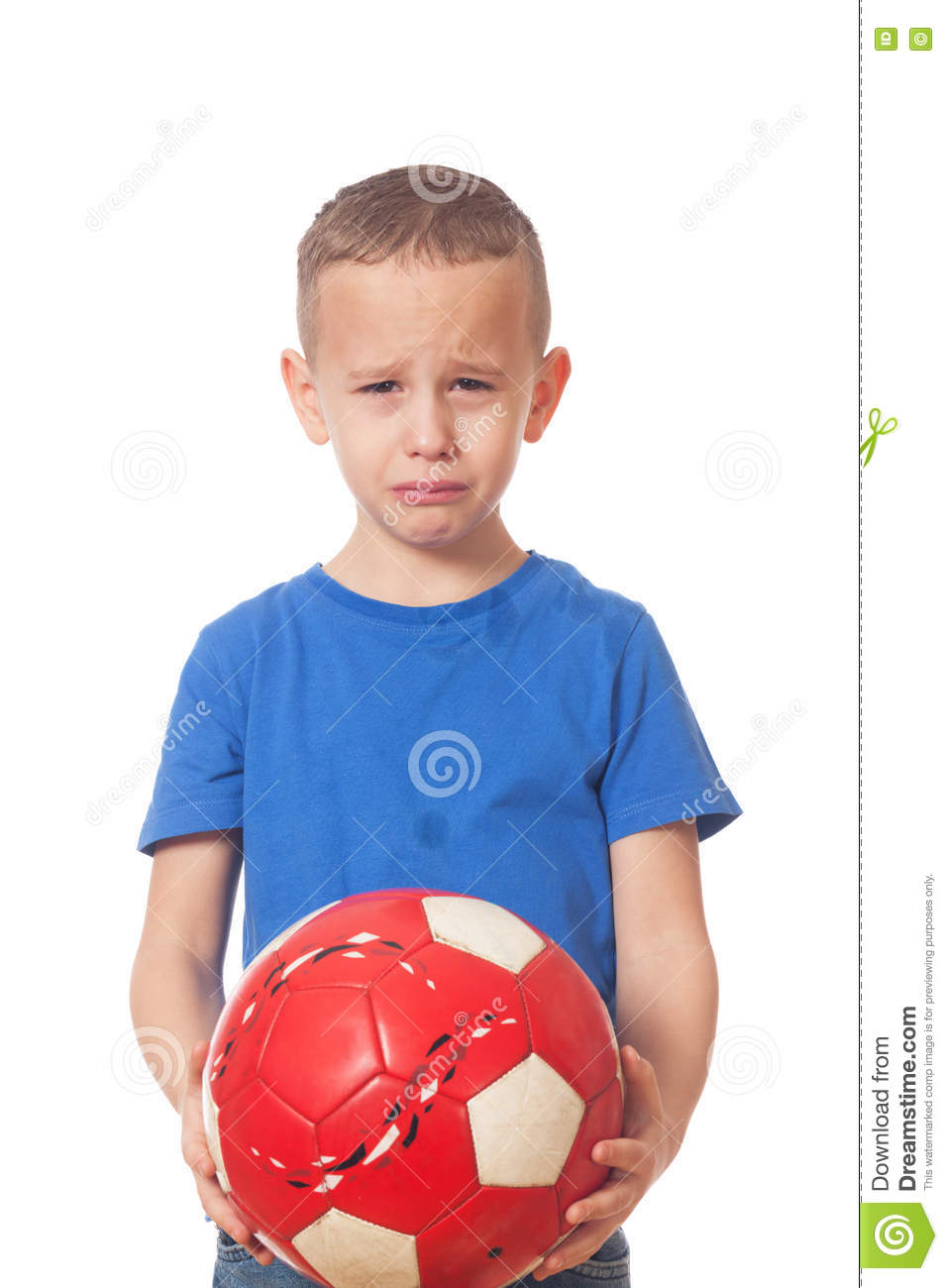 Download Defeated soccer player stock image. Image of failure - 81927301
