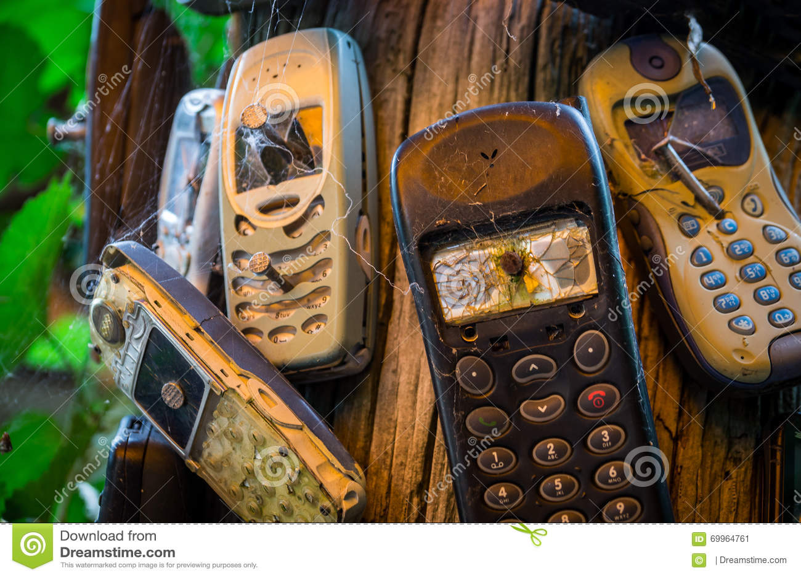 Defekte Handys