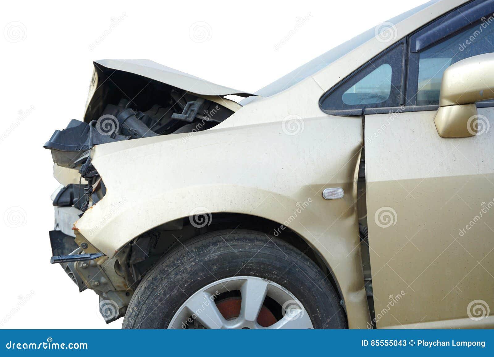 Defekter Motor- Unfall, zerschmettern enthaltenen Beschneidungspfad