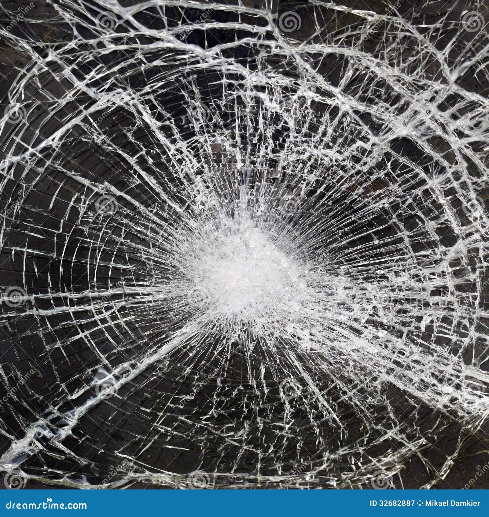 Defektes Glas