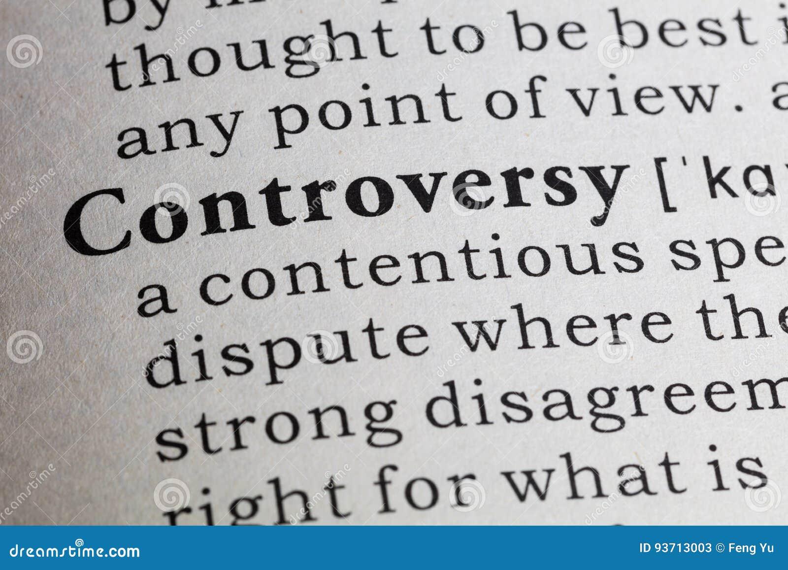 Definição da controvérsia