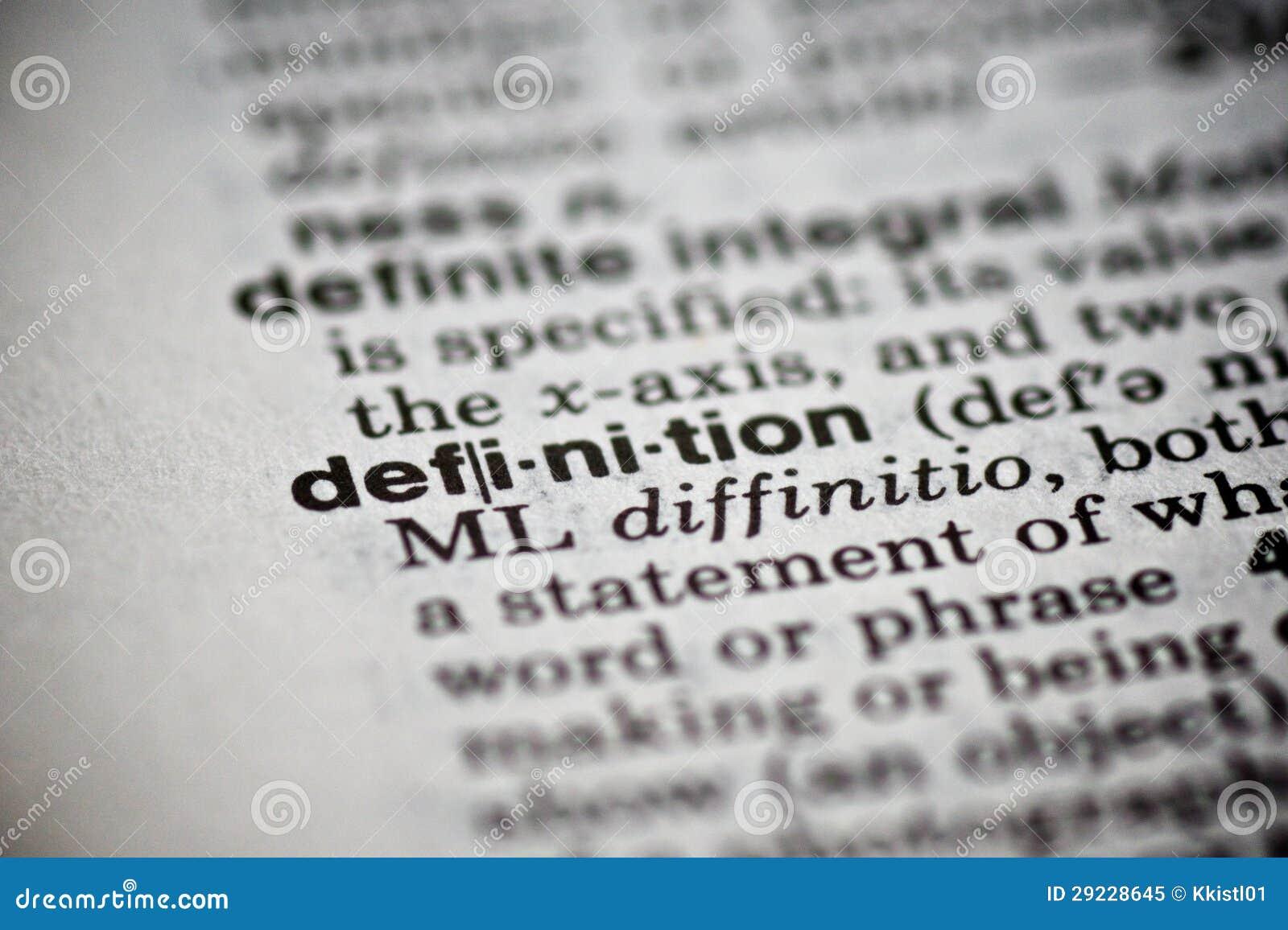 Download Definição Da Palavra No Dicionário Imagem de Stock - Imagem de escrita, macro: 29228645
