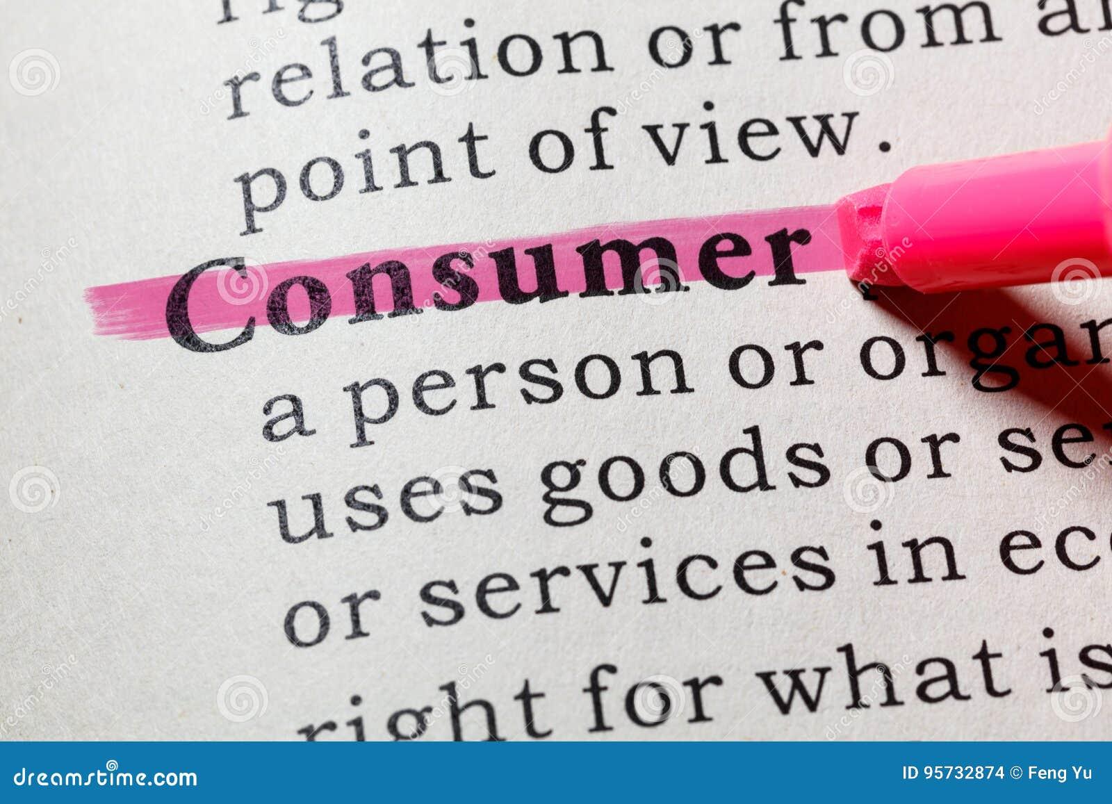 Definición del consumidor