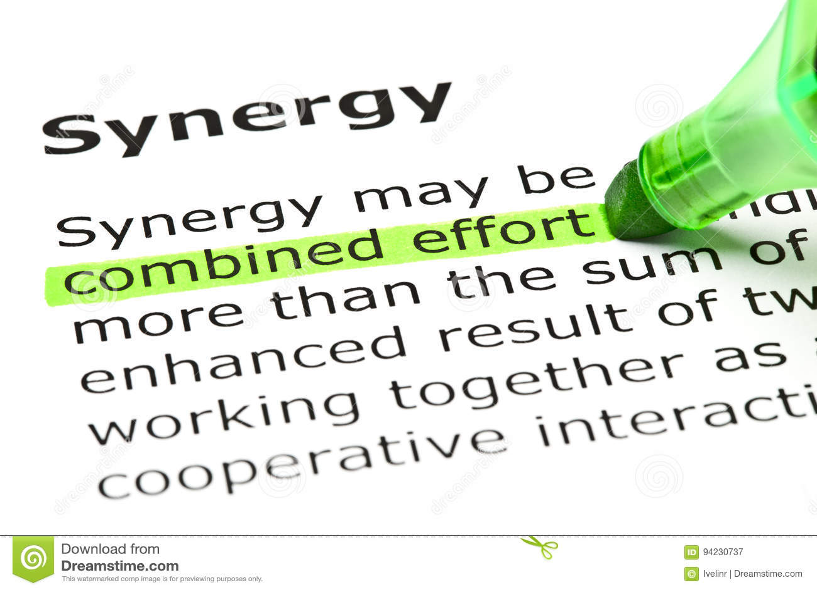 Definitie van Synergisme