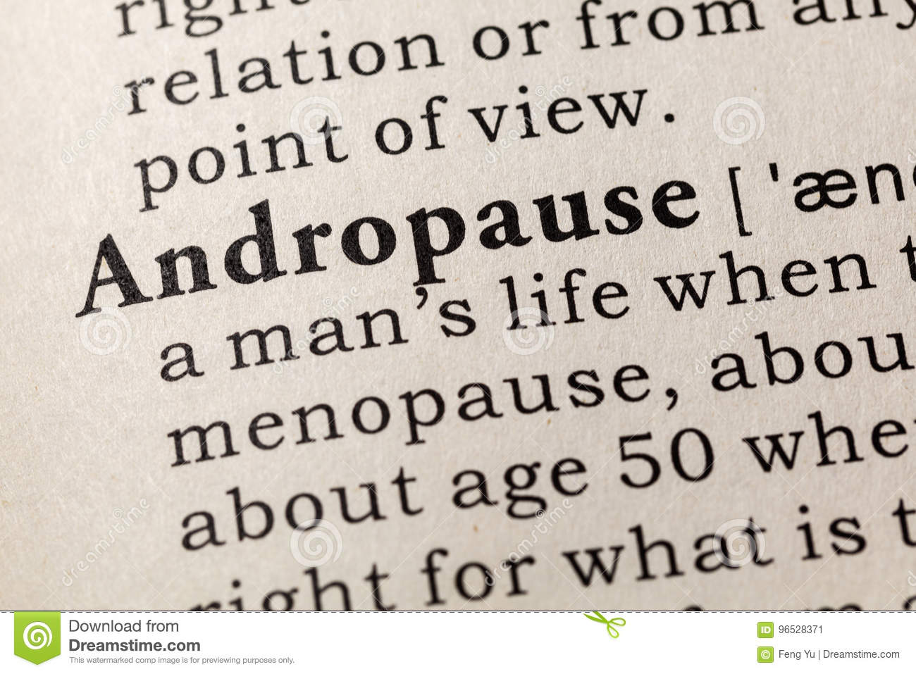 andropause definition