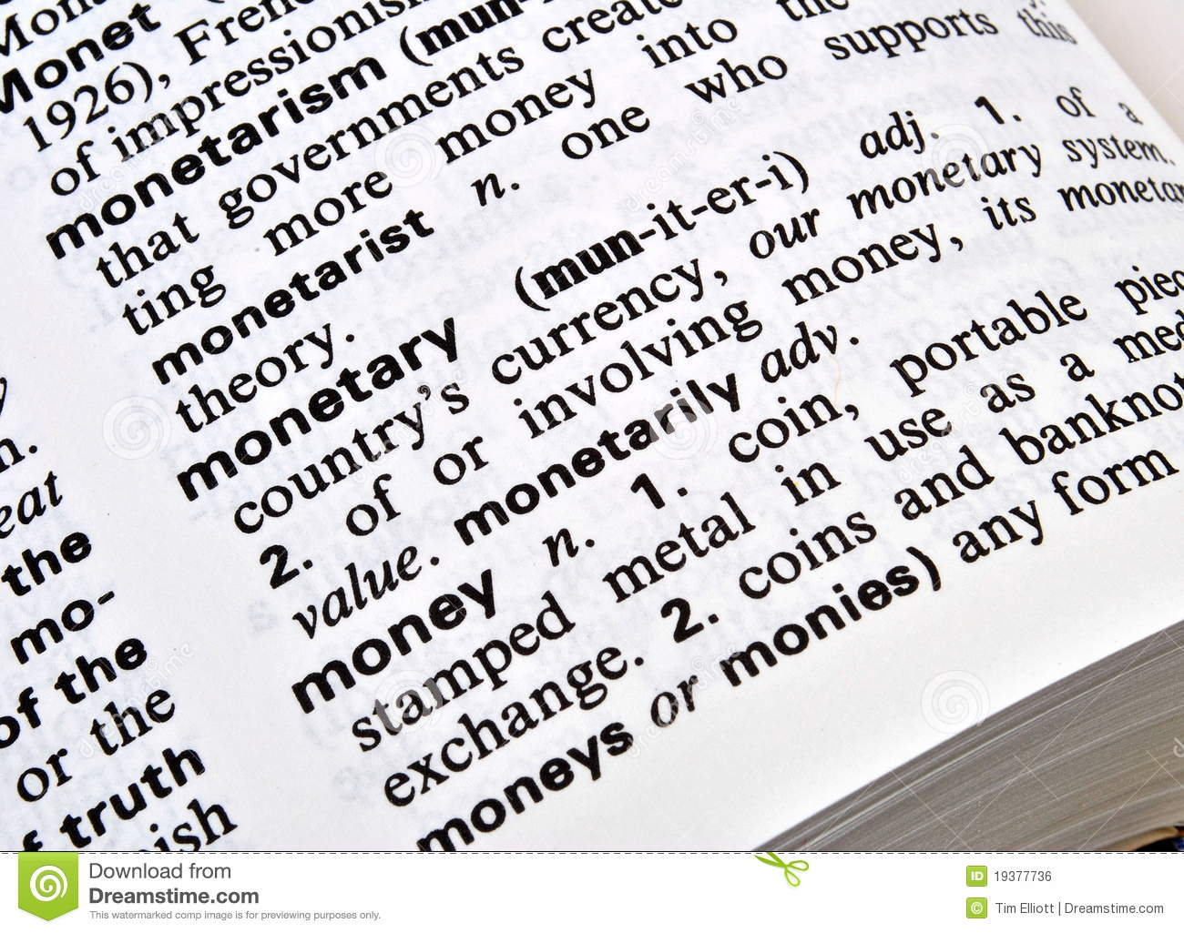 Currency Definition Economics