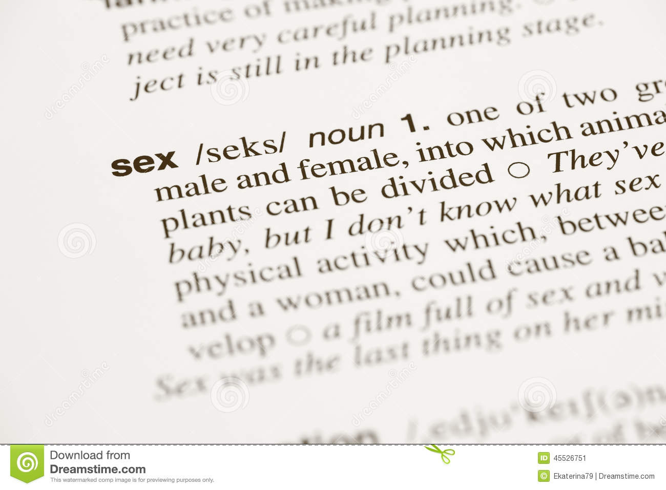 What is the definition of sex pic 62