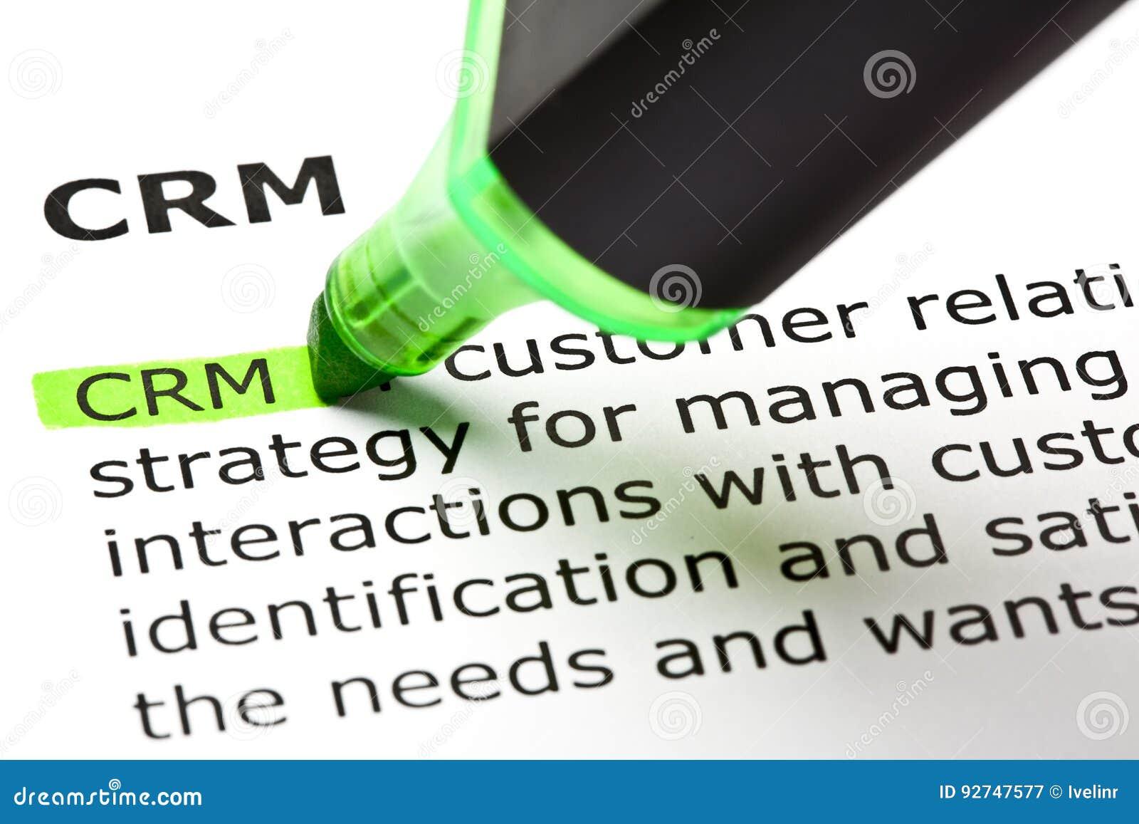 Definizione del customer relationship management