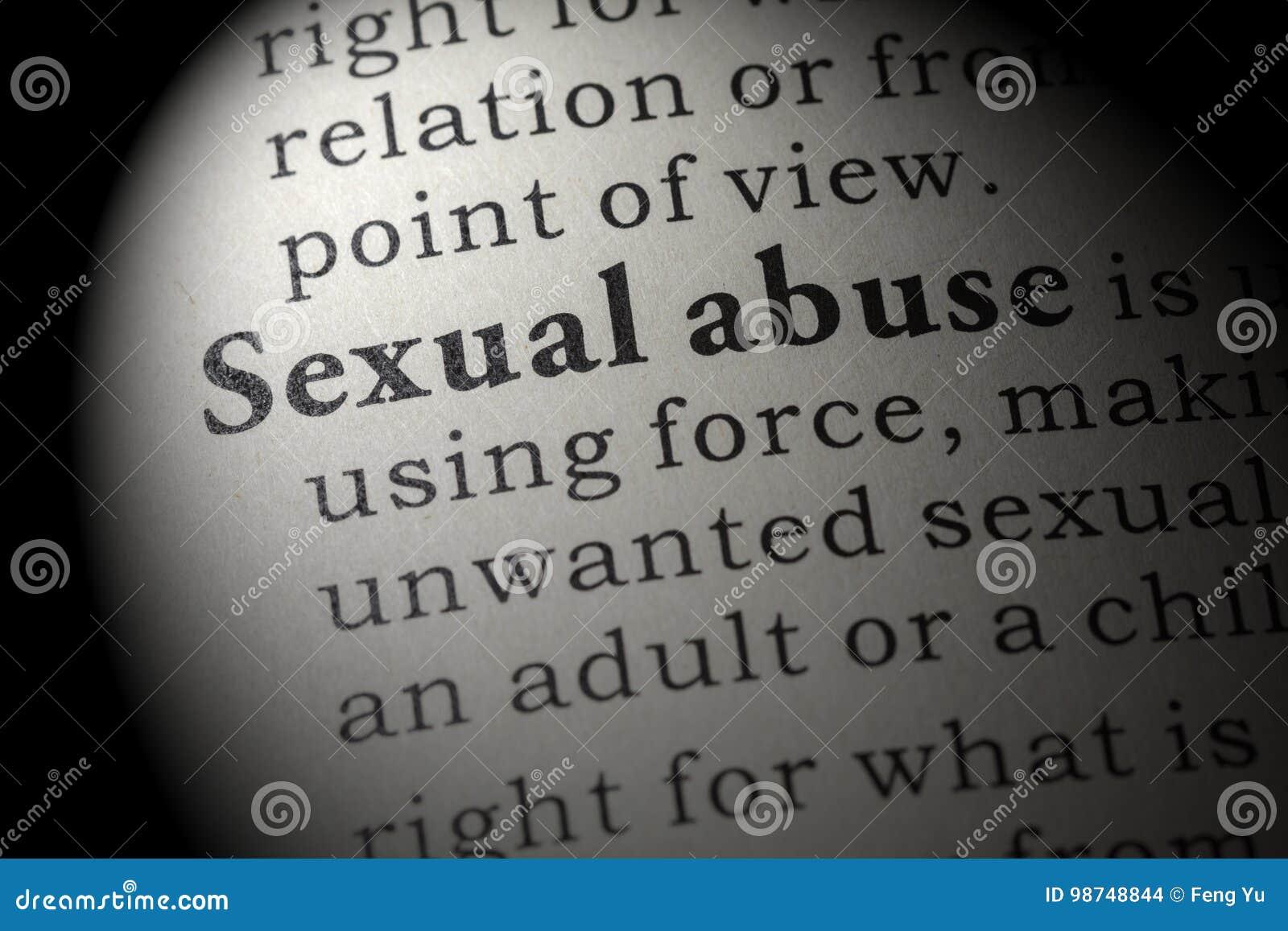 Definizione di abuso sessuale