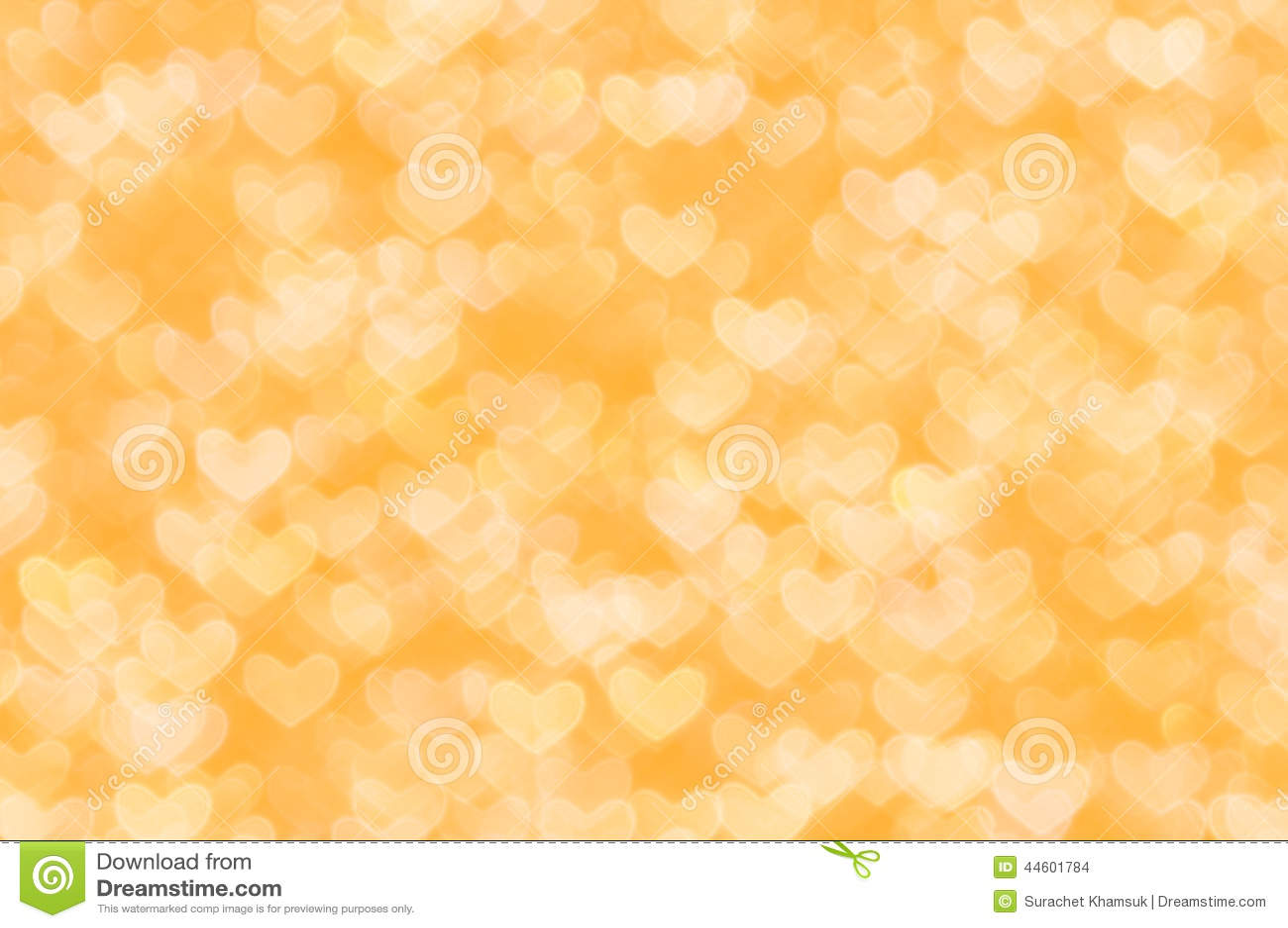 Defocused Abstract Orange Hearts Light Background Stock Photo ... for Background Pattern Light Orange  285eri