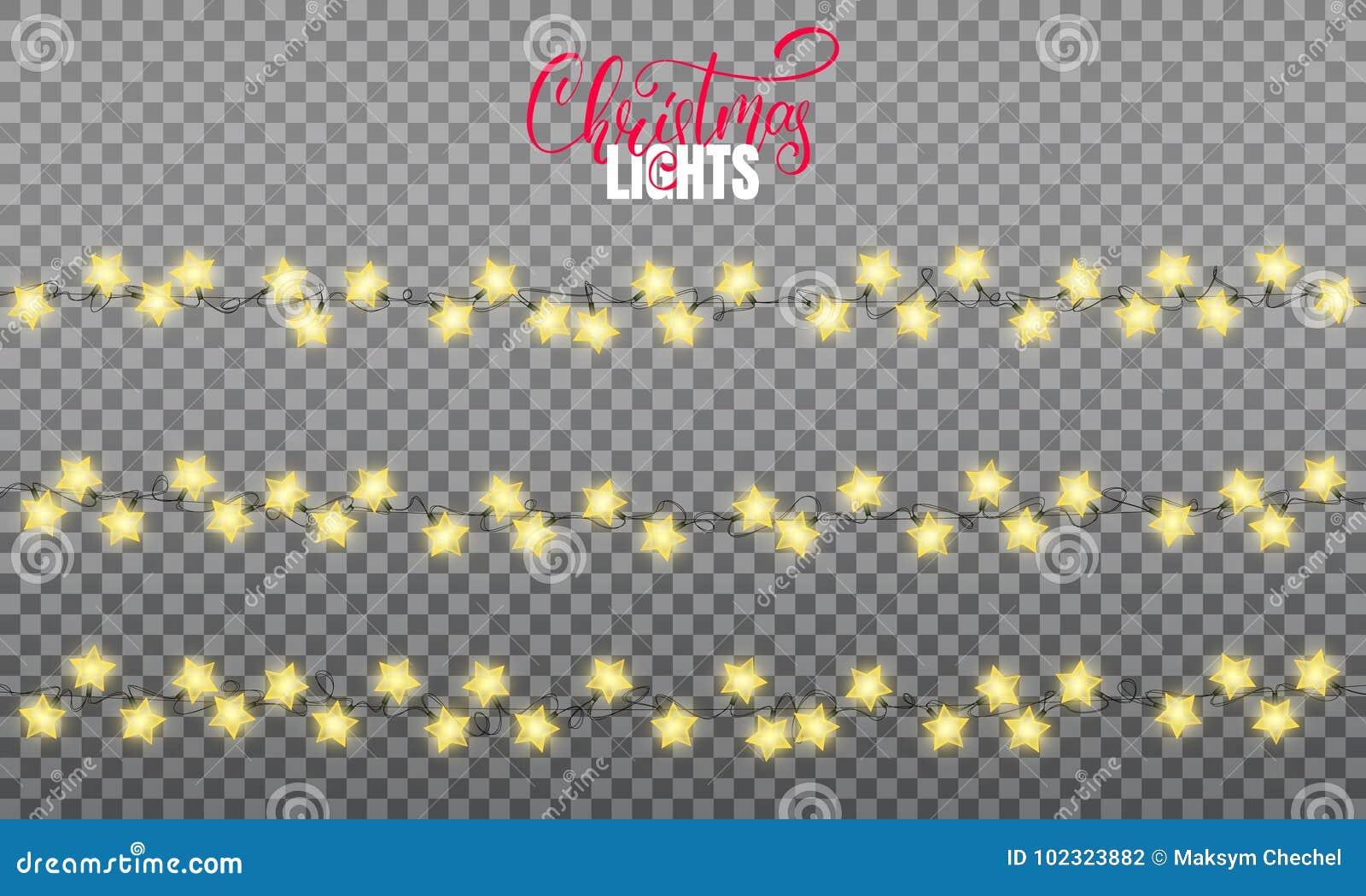 Defocused abstrakt julbakgrund Realistiska beståndsdelar för radljusdesign av stjärnan formar lampor Glödande ljus för vinterferi