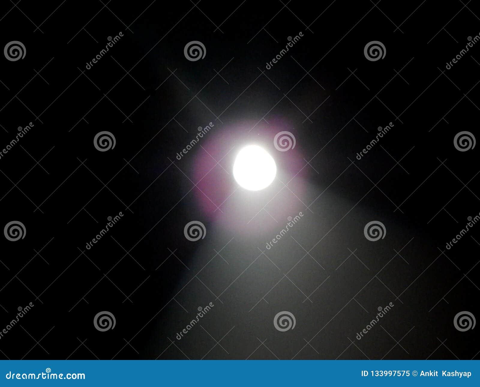 Focusing light coming into a dark room