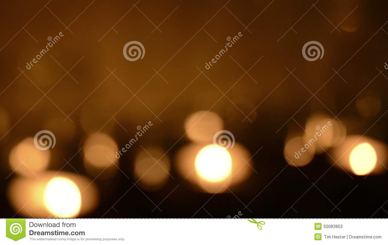 Defocused Candle Background Stock Video