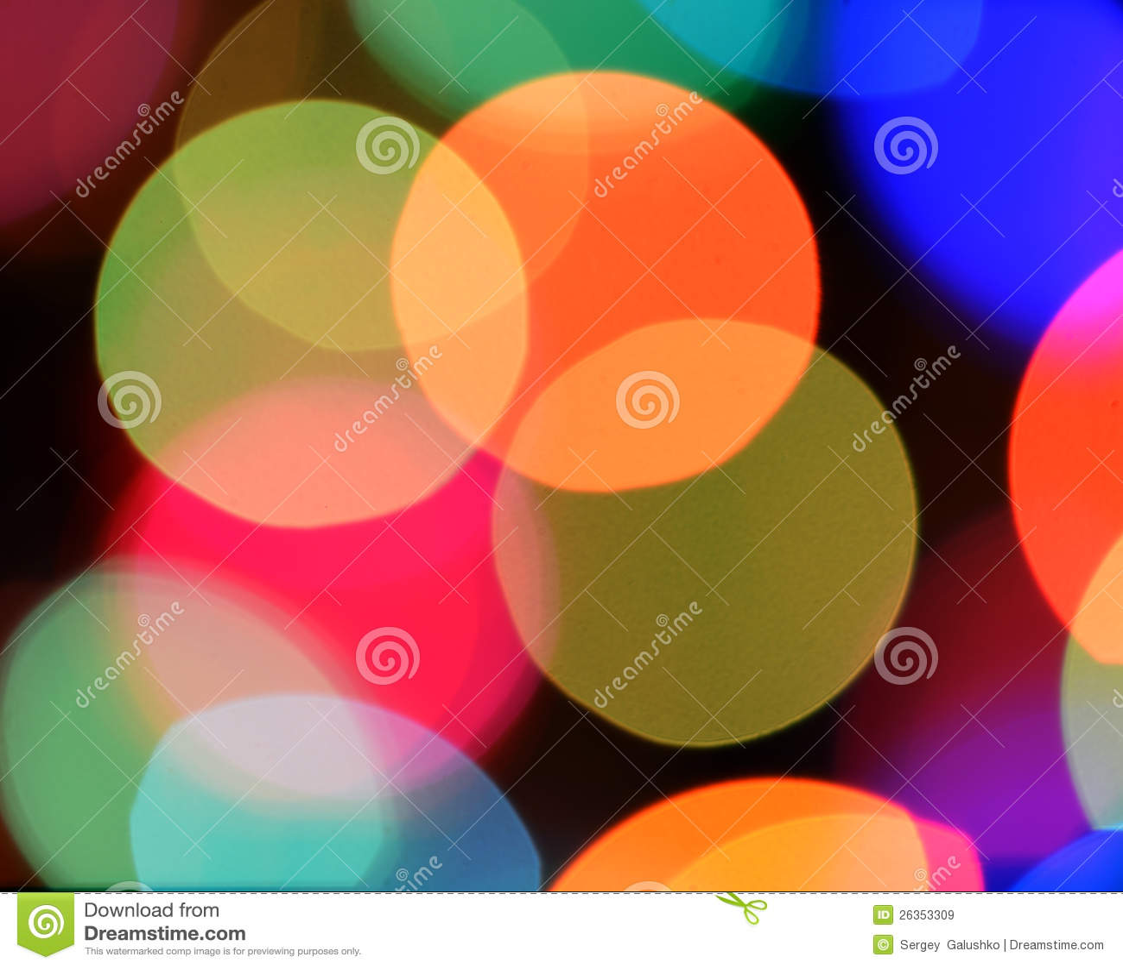 Defocused Farbenhintergrund