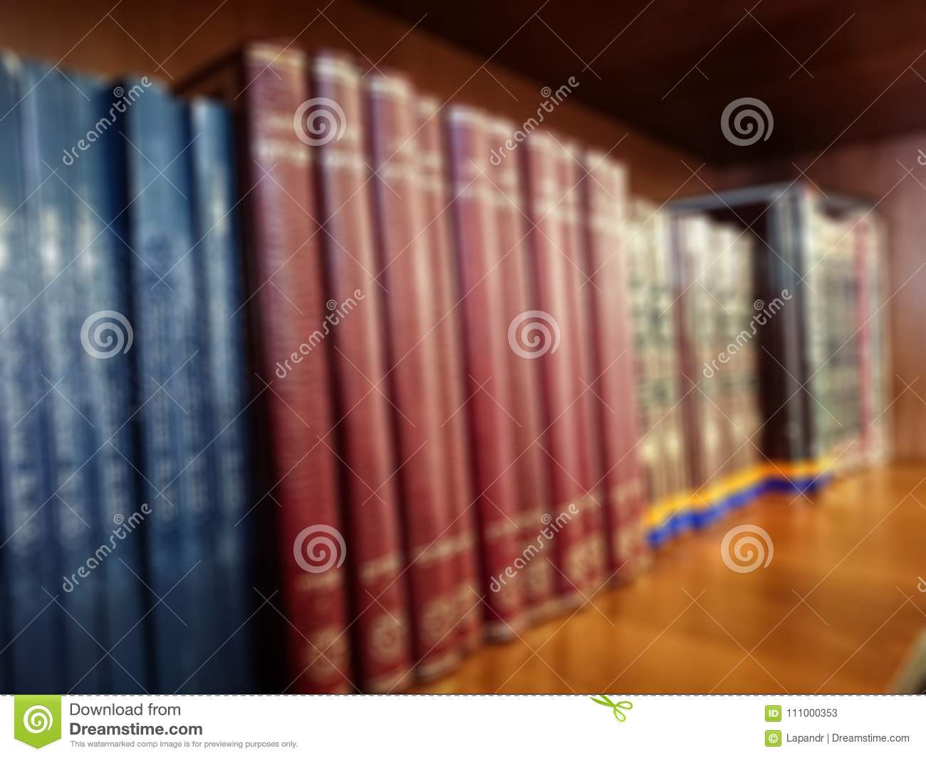 Multi Colored Books On The Bookshelf In Library Bokeh Download Preview