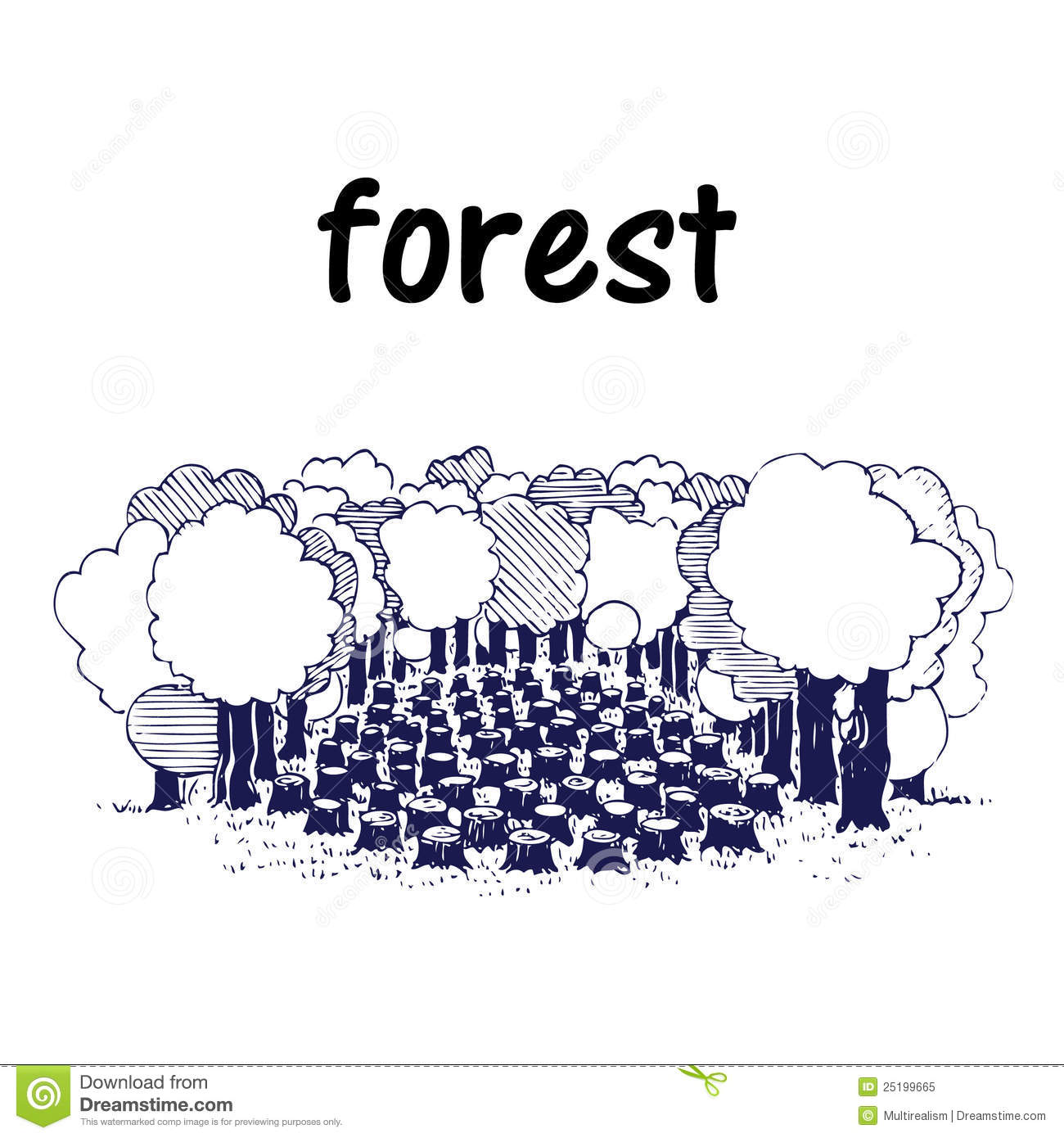 Displaying 20> Images For - Deforestation Clipart...