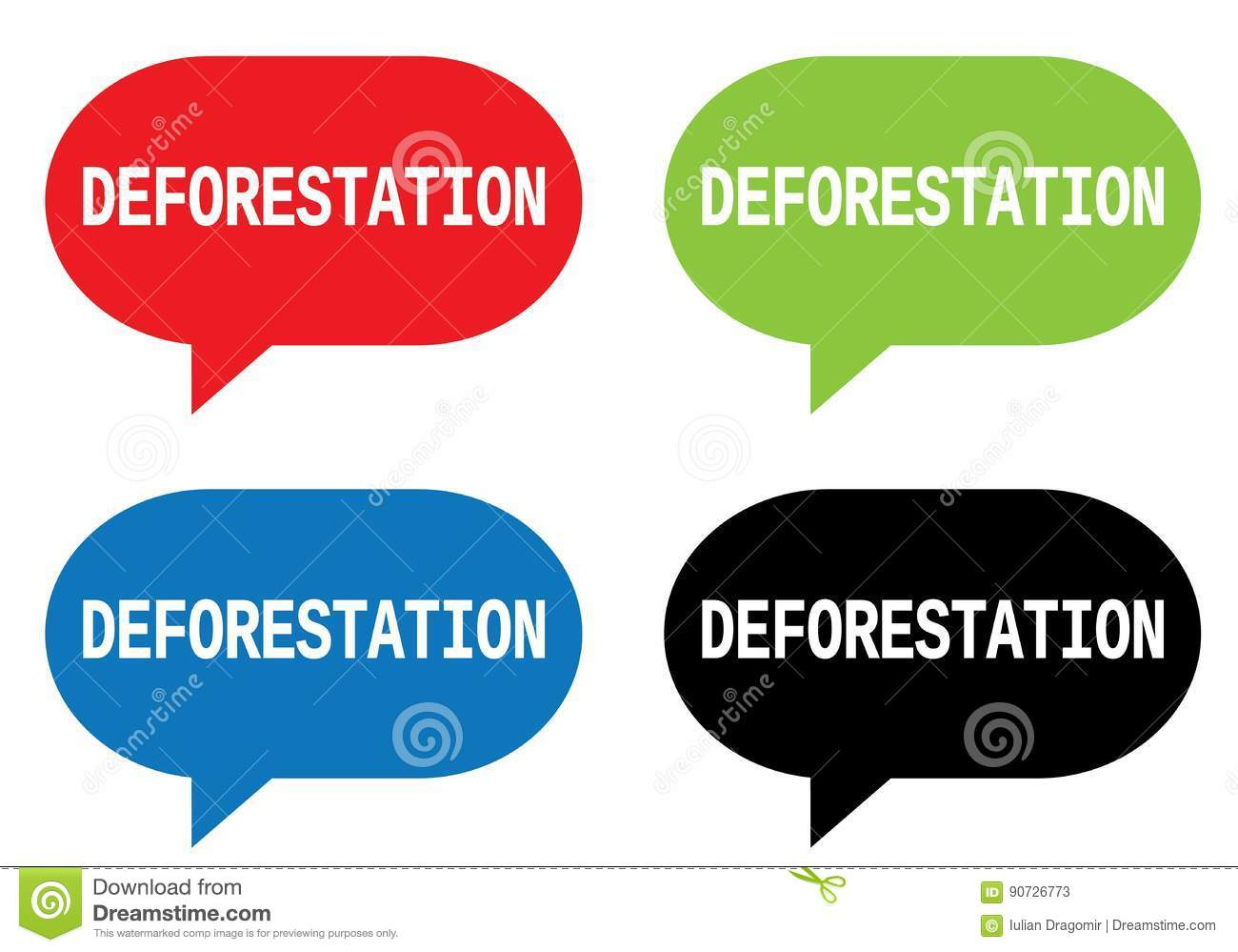 speech on deforestation