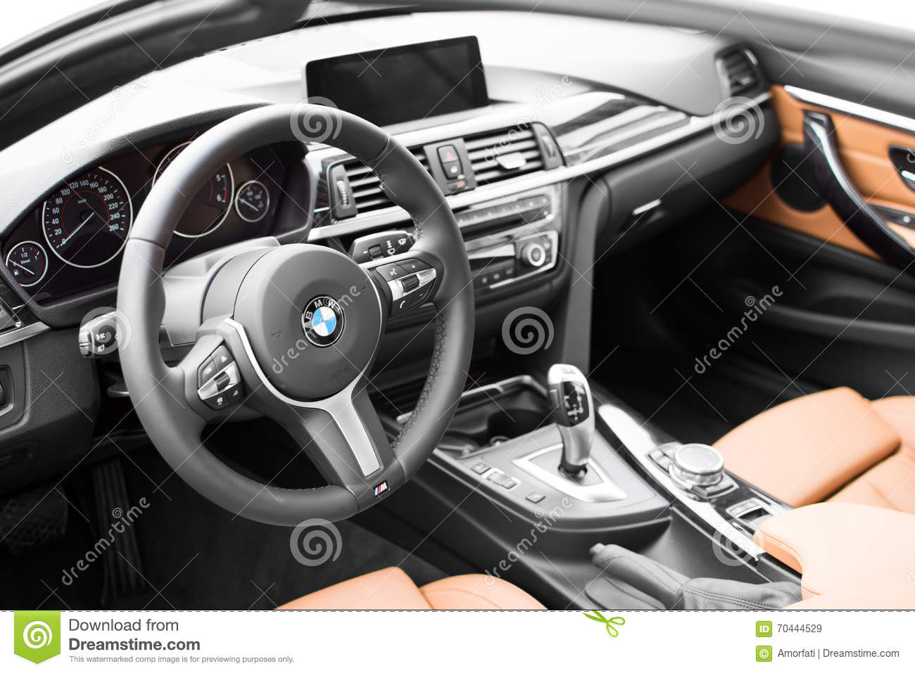 deggendorf germany 23 april 2016 interior of a 2016 bmw 4 series convertible during the. Black Bedroom Furniture Sets. Home Design Ideas