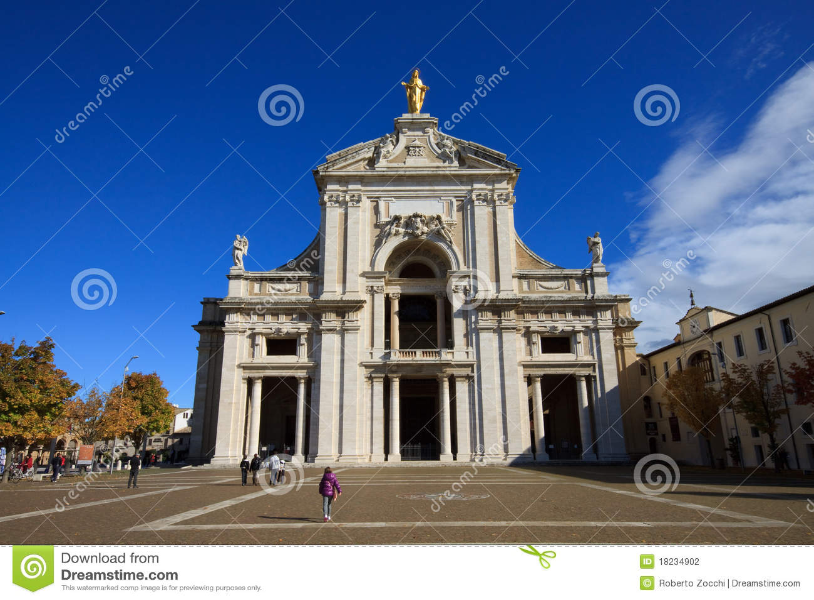 DegliAngelussen van Santa Maria van de basiliek