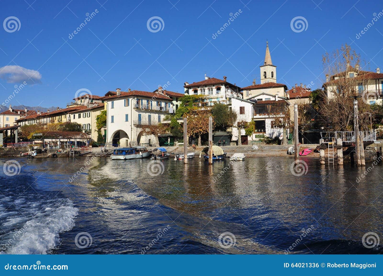 Dei Pescatori de Isola, lago (lago) Maggiore, Itália