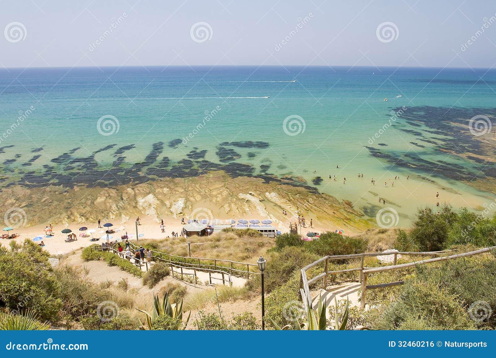 Dei Turchi de Scala da praia
