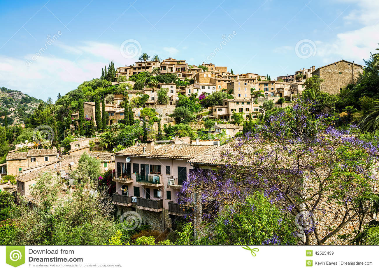 Deia wioska na Majorca