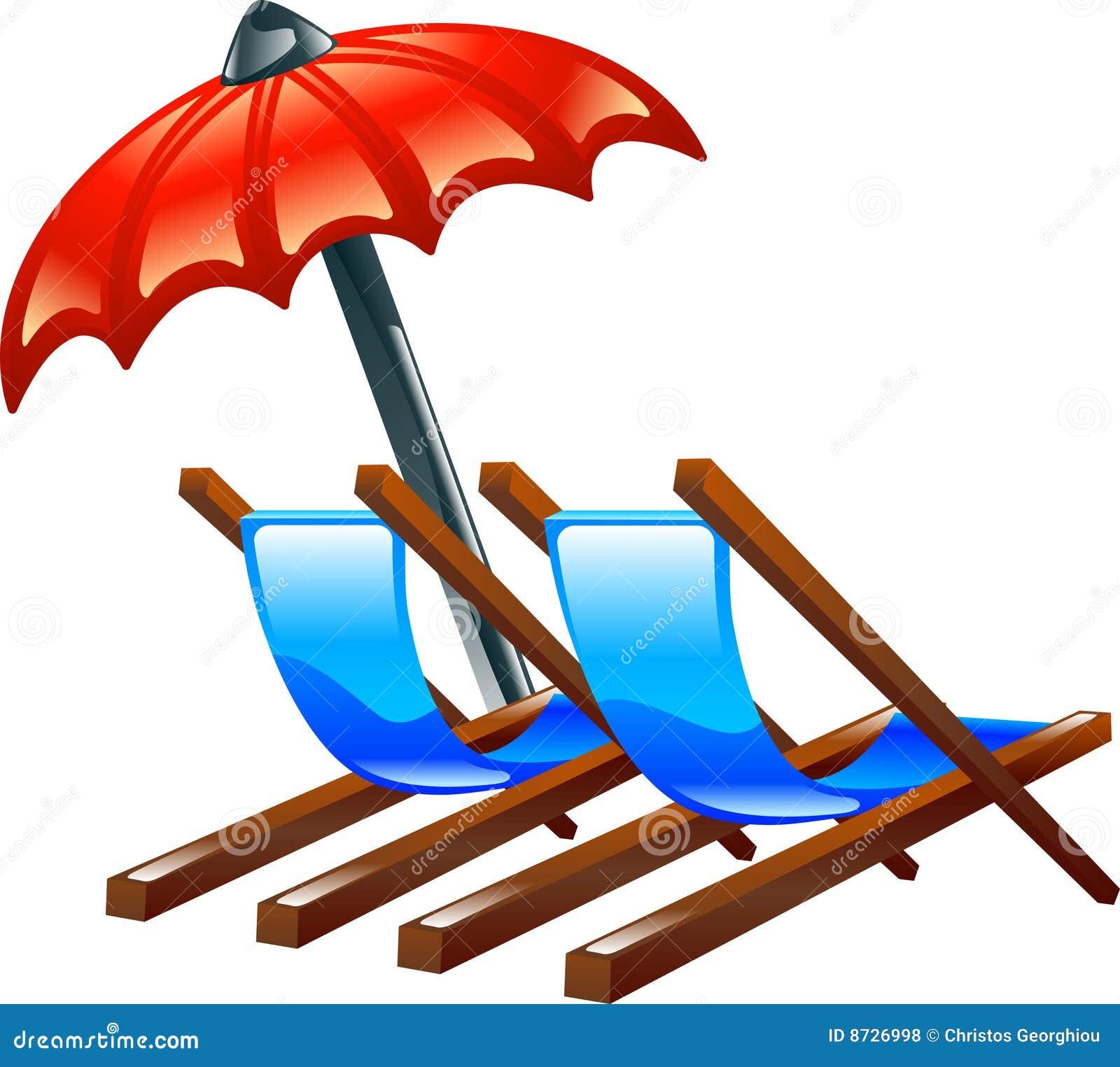 Dek of ligstoelen en parasol royalty vrije stock foto 39 s afbeelding 8726998 - Zon parasol ...