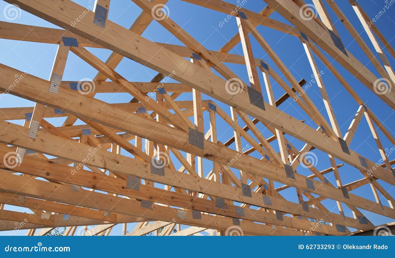 Dekarstwo budowa Drewniana Dachowa Ramowego domu budowa