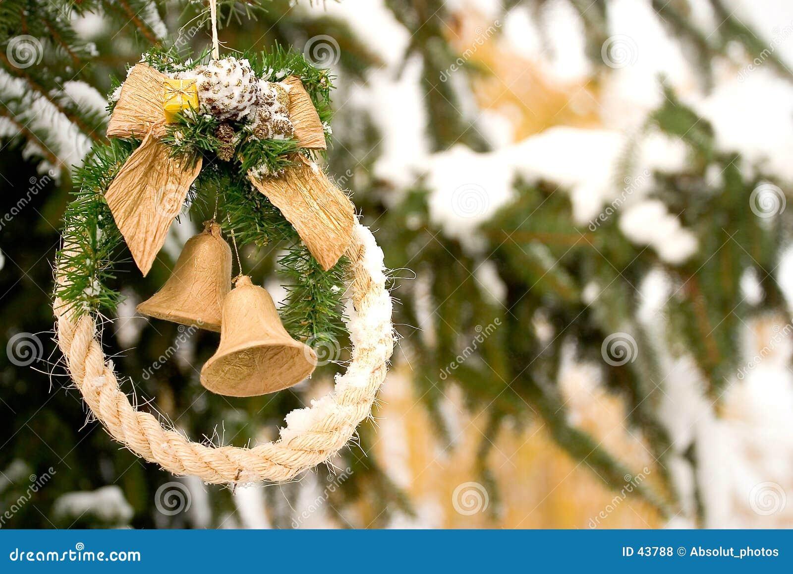 Download Dekoracji świątecznej zdjęcie stock. Obraz złożonej z śnieg - 43788