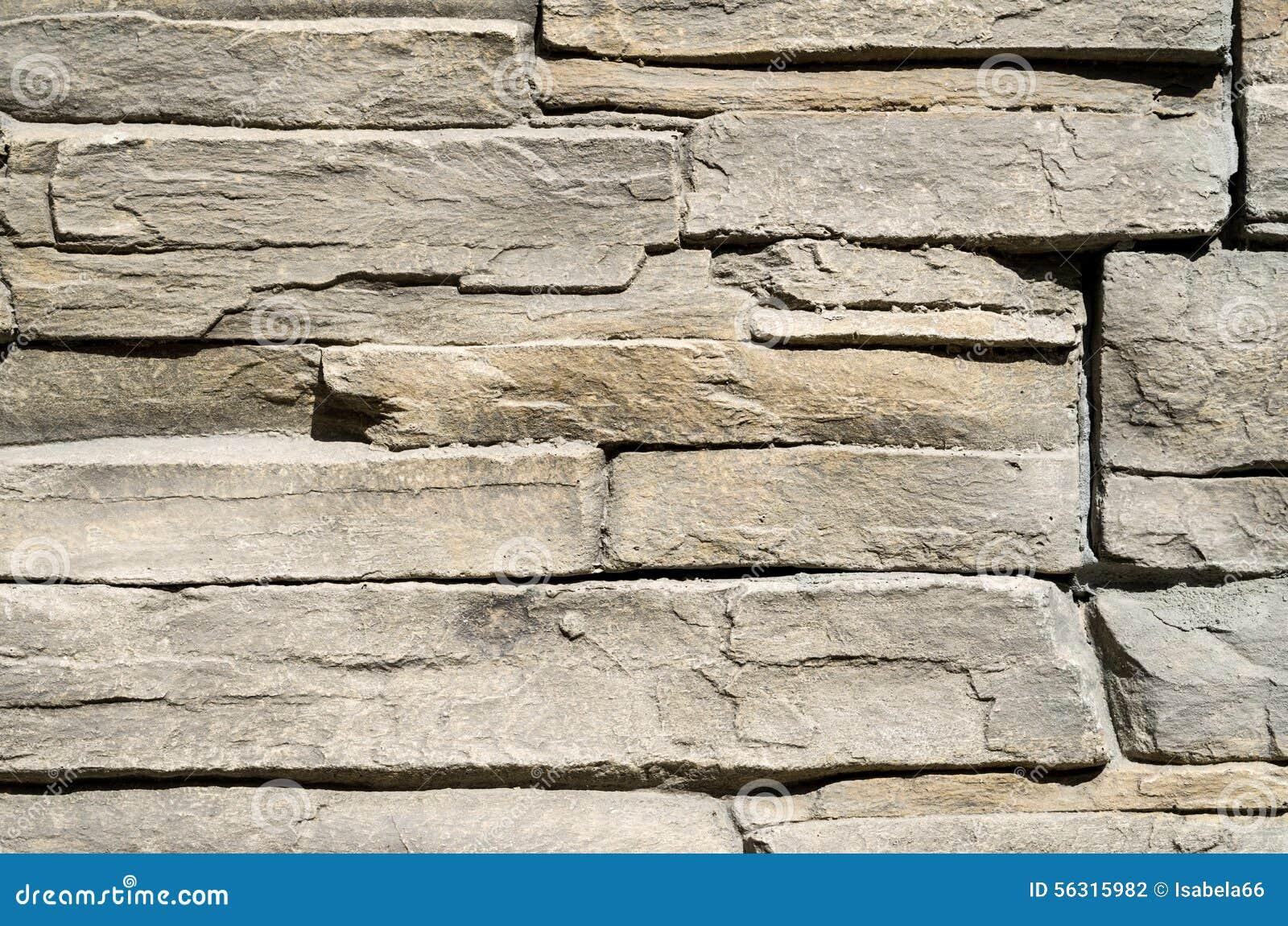Dekoracyjne Reliefowe Powlekanie Cegiełki Imituje Kamienie