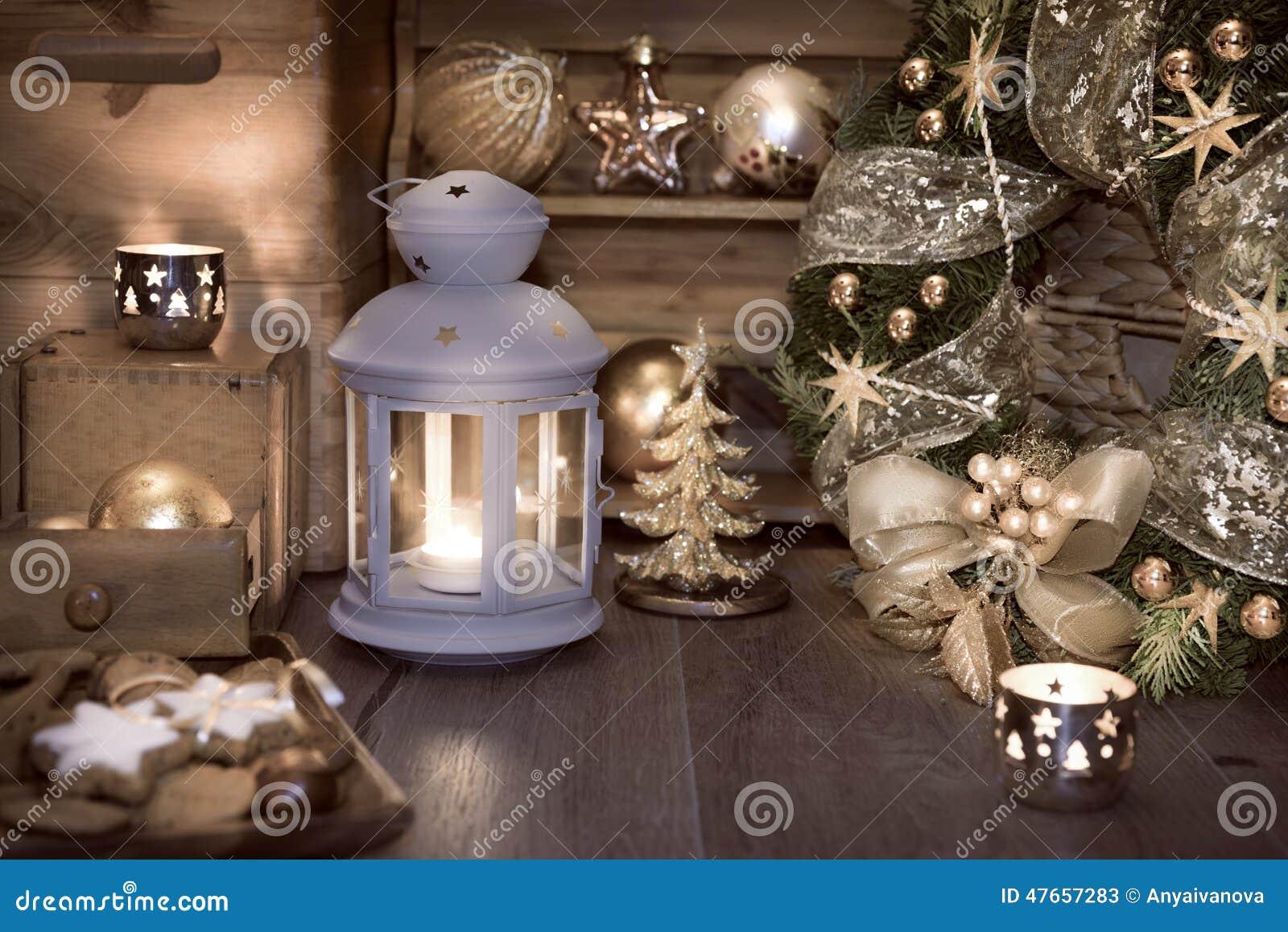 Dekoracyjny Lampion świeczki I Boże Narodzenie Dekoracje